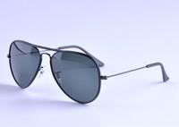 Hot sunglasses women brand designer  sunglasses 3025JM 002 leather metal sunglass Wholesale freeshipping