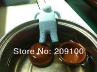 Mr. tea strainer/infuser /tea bag/ food grade silicone tea infuser