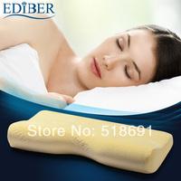 EDIBER 120D warm sense of space, high density memory foam pillow butterfly pillow cervical health care