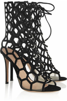 Free shipping 2014 new arrival jc cutout ultra-high heeled women sandals JC honeycomb strap contracted and sexy high heels