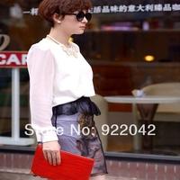 Hot mama of sun li in same sunglasses glasses Xia Bing sunglasses Round black sunglasses tide restoring ancient ways