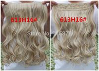 клип в расширение синтетических волос Шиньон 5 заколки в один кусок для полной головы кудрявые 50 см длиной около 20 дюймов