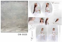 5X7ft Pure White Digital Pictorial Cloth For Photography Photo Studio Muslin Background Computer Printed Vinyl Backdrops