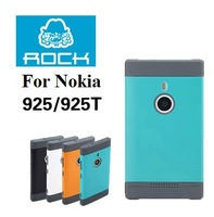 Rock  For NOKIA Lumia   925 Phone Case Lumia 925t phone case set with screen film