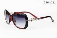 736  Special Offer Women Sunglasses Wholesale Price 100%UV Protection Girls Sunglass Vogue Outdoor Pretty Sea Beach Sun Glasses