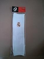 real madrid white barcer arm sleeve / length 35cm football fans oversleeve