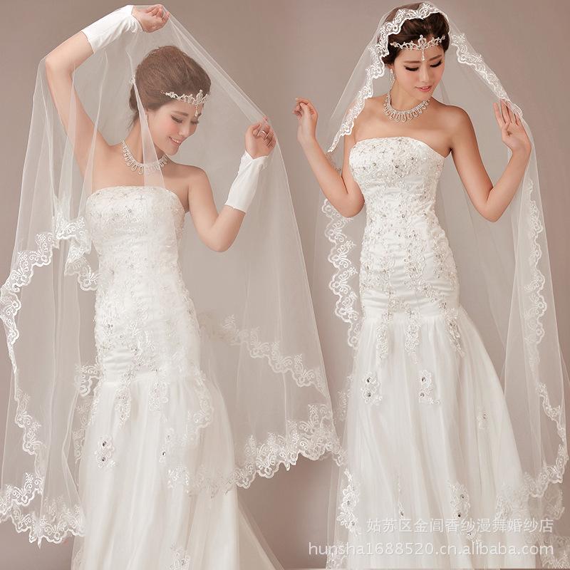 Vintage Wedding Dresses And Veils 52