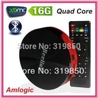 M8 Amlogic Quad Core Android TV Box 2G RAM 16G Mali450 GPU HDMI XBMC Bluetooth 2.4G/5G Mini PC Android 4.4.2 Smart TV Receiver