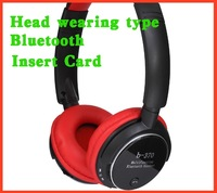 New Bluetooth Headset W/ FM/TF Sport MP3 Player Hands free call Noise cancellation Free shipping