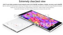 "Original Inew V3 MTK6582 Android 4.2 Quad Core Mobile Phone 5.0"" IPS Screen 1G RAM 16G ROM 13.0MP Camera NFC OTG"