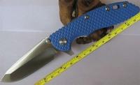 FAST FREE SHIPPING New Hinderer XM-18 Bule G-10 Handle Pocket Folding Bule--FXM18 Knife