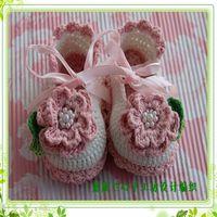 2013 shoes baby shoes princess shoes 100% cotton yarn breathable shoes bracelet