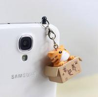 $15 Free Shipping Wholesale kpop cute cat ear Jack anti dust plug for cell phone/brand designer new fashion kawaii earphone cap