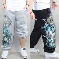 CR-07 Men hip hop pants Sports Casual pants Health pants Sports sweatpants Mens joggers sweatpants hip hop harem baggy pants