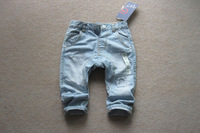 BP4006  Girl boys   loose jean, light blue 5pcs/lot