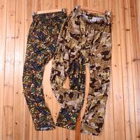 Duck dynasty male comfortable 100% cotton pajama pants lounge pants