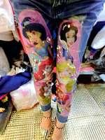 Sexy rhinestones sparkling diamond merlons patchwork jeans pants beggar pants