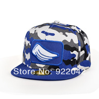 The new spring and summer Camo graffiti baseball caps Korean stereo embroidery flat brim hip-hop hip-hop tidal Hat Cap