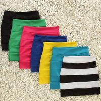 free shipping 2030 fashion lady slim hip step short bud a-line medium short skirt 2014