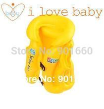 Baby safety Swimming Aid Inflatable Swim Vest Yellow(China (Mainland))