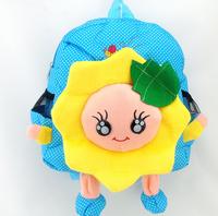 lovely sunflowers toy bag backpack children school bag
