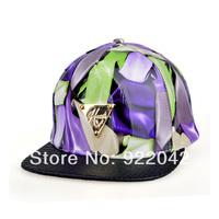 The new spring and summer 2014 graffiti baseball cap letters mark delta plain visor hip-hop cap tide bag mail Unisex