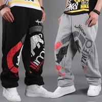 CR-34 2014 men Hip hop pants Fashion Loose Spring Autumn Sportswear for men Mens joggers sweatpants outdoors jogging Loose