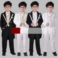 2014 new  Flower Children tuxedo Boys dress suit Stage performances clothing boy 6 set