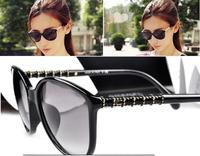 Newest Design CH5207 Bamboo Sunglasses Women's Fashion Sunglasses Glasses 100% UV PROTECTION ,Free Shipping