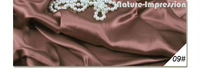 Silk Charmeuse 19m/m/Width-114cm/100% Mulberry silk fabrics/Chinese silk textiles for dress/NO-09#Rosy Brown/3Meters/Lot