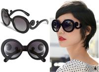 Free Shipping Women's Sunglasses SPR27N Round Fashion Sunglasses Glasses 100% UV PROTECTION 2013 5A Quality