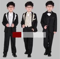 2014 new  Flower Flower Children's suit  Boys dress suit Stage performances clothing boy 6 set
