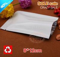 Vacuum packaging bags aluminum foil food saving bags 8*12cm food medicine packing material food grade in stock fast shipping