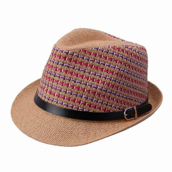 Дешевые 10pcs/lot многоцветные соломенная шляпа материала