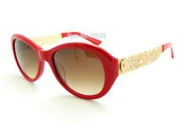 New 2014 DLGB Model FILIGRANA 4213 Metal Temple Fashion Summer Red Acetate New Design Original color Free Orignal Red Case