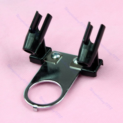 Free Shipping 1PC Mini Simple Airbrush Holder Stand Support Airbrushes Paint Hobby Art(China (Mainland))