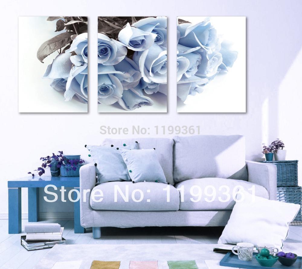 Blauwe Tinten Woonkamer : Blauwe muur woonkamer kopen wholesale licht ...