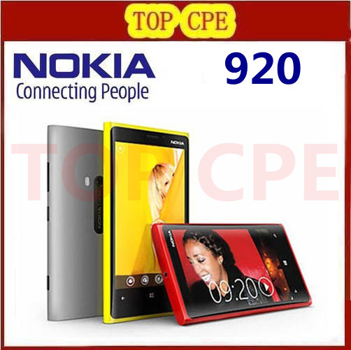 Мобильный телефон 1 Nokia Lumia 920 Windows 8 32GB 4G мобильный телефон nokia lumia 520 unloced wifi gps 5mp 8gb windows 3g