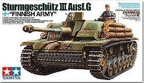 Tamiya model 35310 1/35 Sturmgeschutz III Ausf.G Finnish Army Model Kit(China (Mainland))