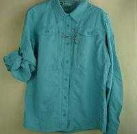 Simms quick-drying shirt anti-uv fishing clothes outdoor shirt women's shirt