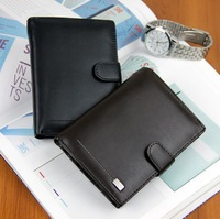 Free Shipping!New  High Quality Men Wallet  Leather Fashion Design Men  Purses Wallets  C3187