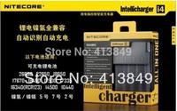FREE  Shipping 1PCS NITECORE  i4 Battery Charger 18650 26650 10440 18350 Battery Charger