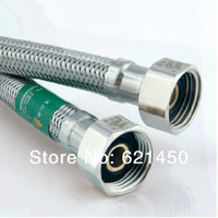 Hot sale! Stainless Steel Double-end 20CM 30CM 40CM 50CM 60CM Hot and Cold Water Braided Tube Plumbing Hoses