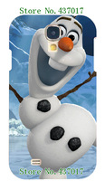 2014 fashion! Unique Newest Designs! 5design to selection,1PCS Frozen Olaf Snowman Hard cover for Galaxy S4(9500)