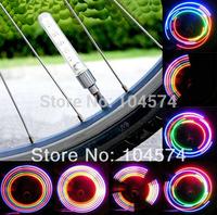 Wholesale 200pcs/lot 5LED Motorcycle Car Bicycle LED Wheel Light Hot Wheels Valve Cap Lights Car Tyre Stick light