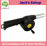 Starter Blower Wind Barbecue Grill Fire Hand Crank Brand New FREE SHIPPING