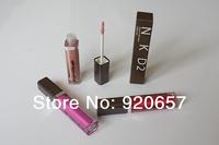 2Piece New arrival NK  lip gloss  velvet high quality lipsticks waterproof matte makeup lipstick colors Free shipping