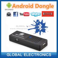 Smart TV BOX internet tv Dongle MK808B Dual Core Android 4.2 Bluetooth Wi-Fi 1080P Black RK3066 freeshipping