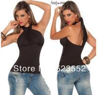 Flexible black shirt Ladygaga same paragraph pole dancing costumes uniform dress costumes performing service