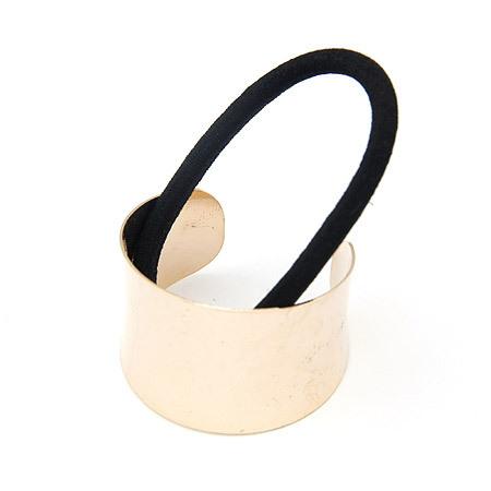 free shipping Fashion semi-cirle quality ruslana korshunova metal headband accessories the first ring glossy circle hair rope(China (Mainland))